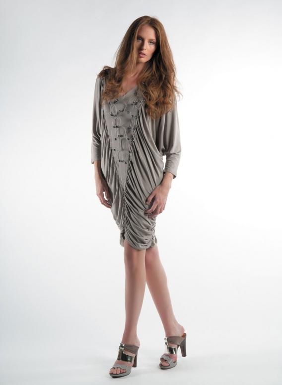 Dress Trigono-Drape