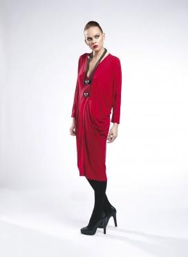 Dress V Trigono elastic