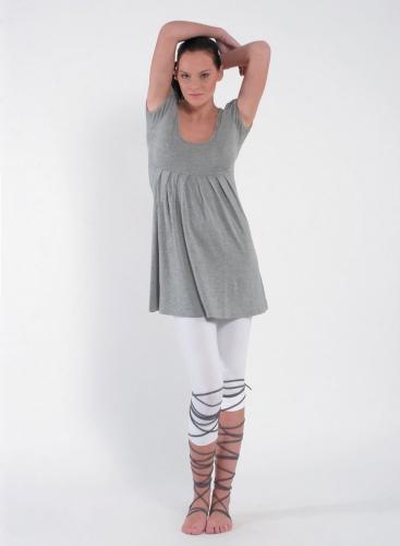 Dress Empire Pietes Short Sleeves Elastic