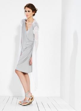 Φόρεμα Κρουαζέ Midi Ελαστικό