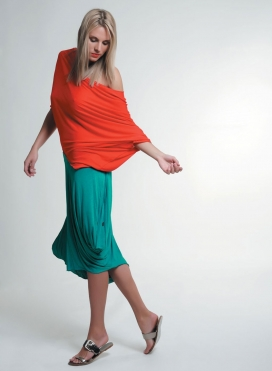 Skirt Medusa 100% viscose