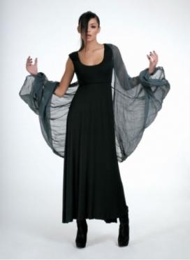 Φόρεμα Διπλό Maxi Ελαστικό