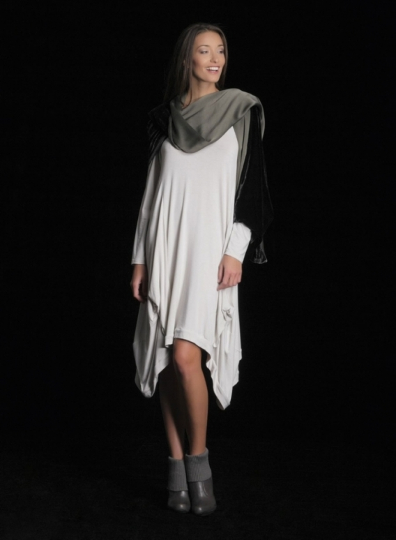 Φορεμα Hello μακρύ μανίκι ελαστικό