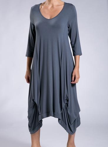 Dress Hello 3/4 sleeve elastic