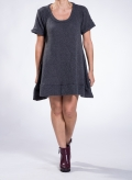 Dress Mini Short Sleeves Bouk 26%Pa 74%Pc