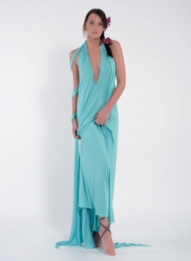 Dress Deto maxi elastic
