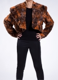 Jacket Bolero ecological fur