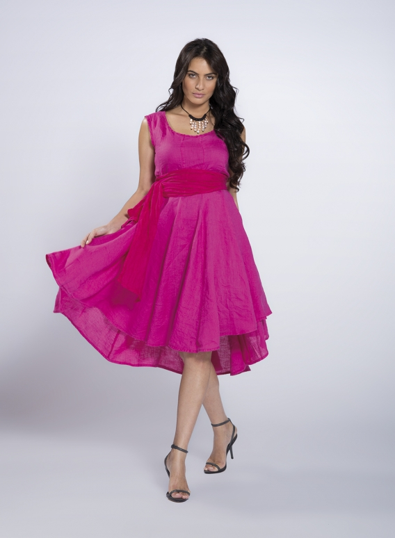 Dress Chloe 100% linen