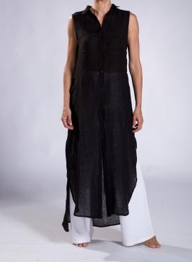 Φόρεμα Σεμιζιέ Summer Χ.Μ. 100% Λινή Γάζα