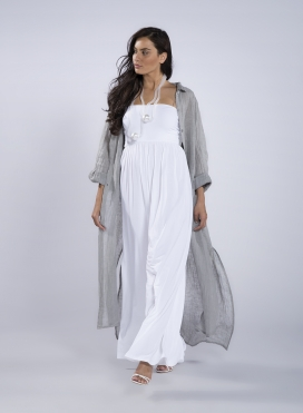 Dress Semizie Summer long sleeve 100% linen