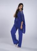 Μπλούζα Front Lace 100% λινή γάζα