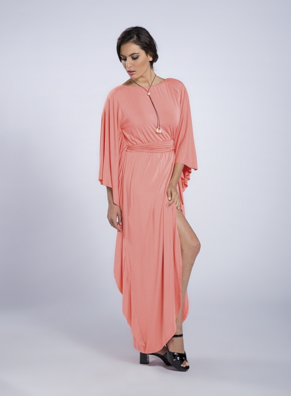 Φόρεμα Boho Maxi Ελαστικό
