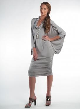 Φόρεμα Alex-Ντραπέ Ελαστικό