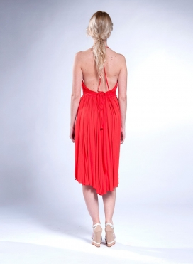 Dress Halter 100% viscose
