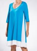 Turquoise, White