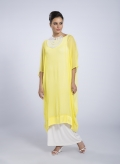 Dress Tetragono Chiffon 100% silk