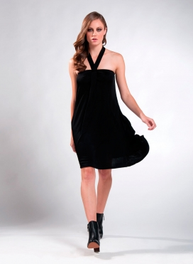 Φόρεμα Φιόγκος midi flash