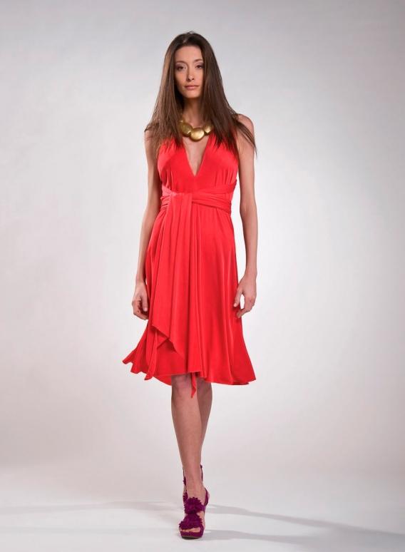 Dress Δετό midi flash