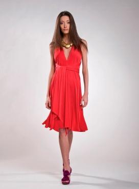 Φόρεμα Δετό Midi Flash