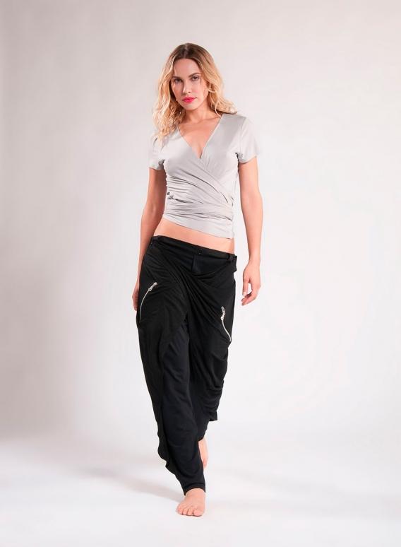 Παντελόνι Two Zippers Side Ελαστικό