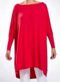 Μπλούζα Over Wool/Viscose