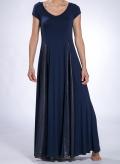 Φόρεμα Maya Maxi κοντό μανίκι double