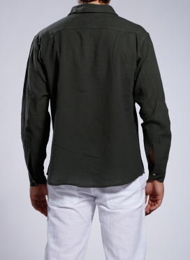 Shirt Gauze Long Sleeves
