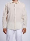 Shirt Gauze Long Sleeves