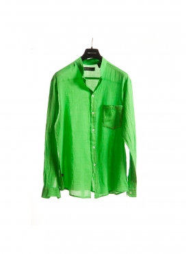 Shirt Mao Gauze long sleeve