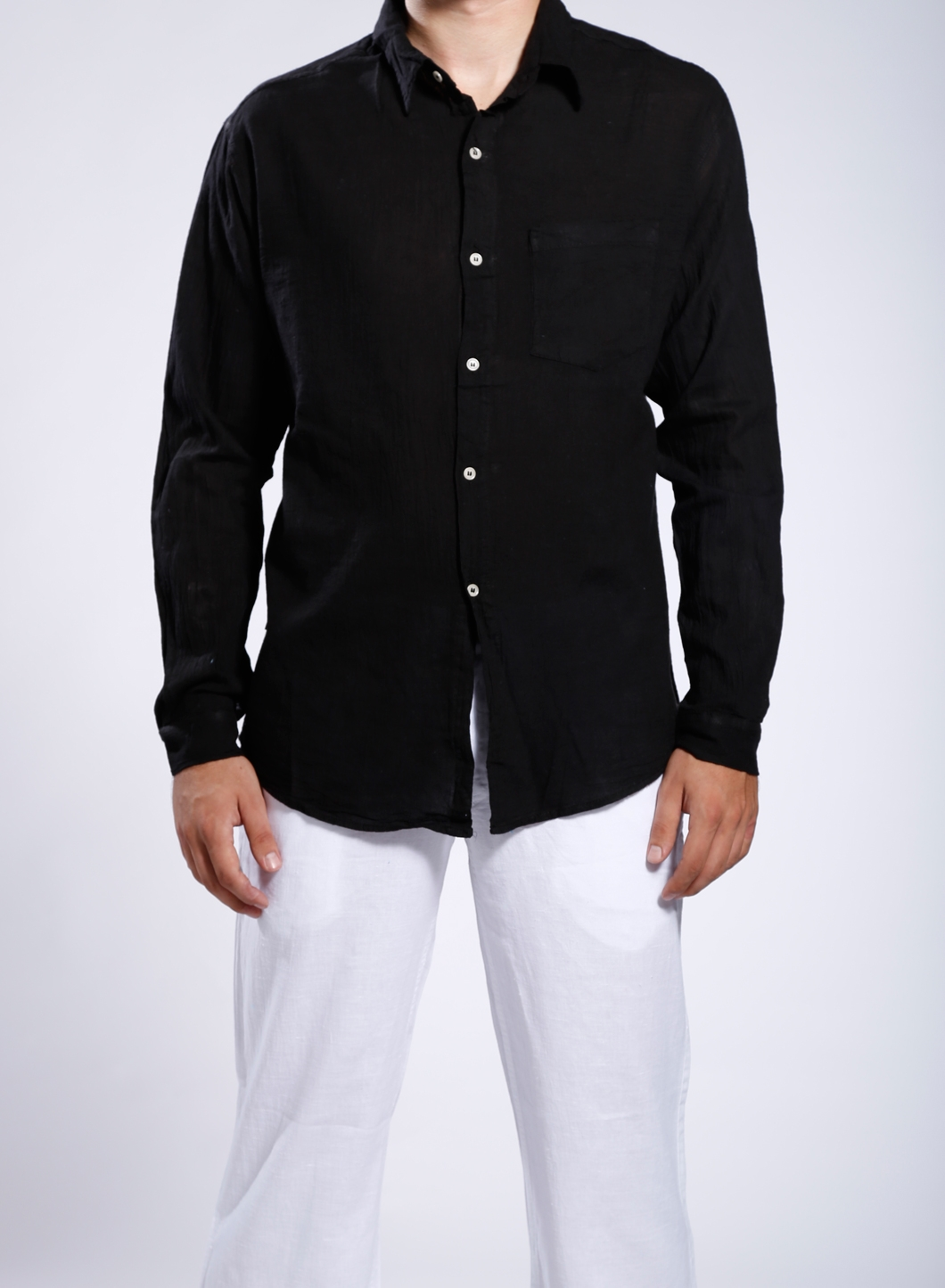 Shirt Tango Men S 100 Linen Gauze
