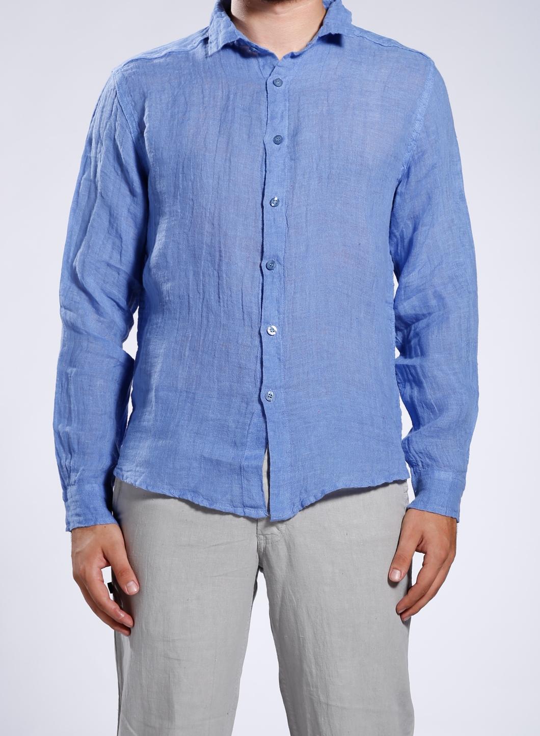 Cream Color Linen Shirt