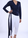 Blouse Zoni Krouaze Long Sleeves