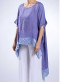 Blouse Scale linen / silk