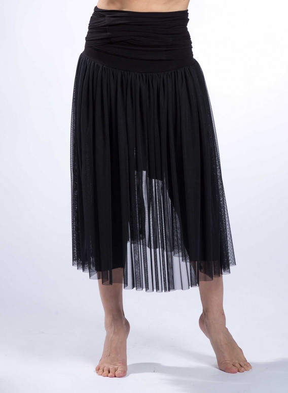 Skirt Gather-Belt tulle