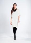 Φόρεμα 2 τσέπες wool/viscoze