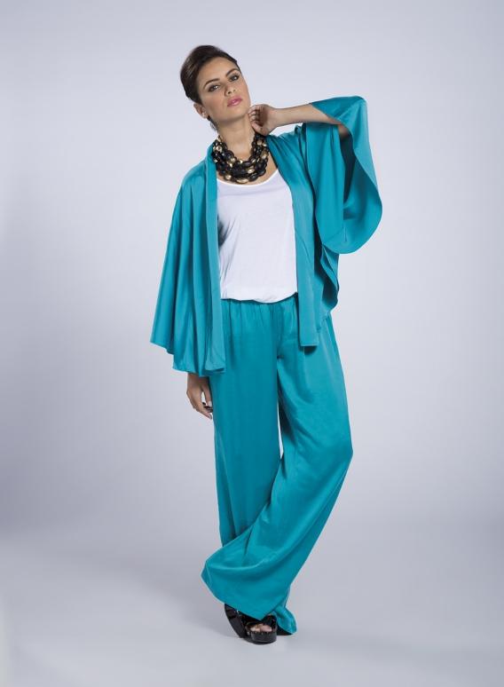Jacket Boho Satin 100% Silk