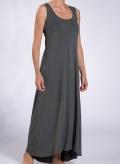 Φόρεμα Athlos Χωρίς Μανίκι Maxi Ελαστικό