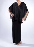 Blouse Poncho Plisse Thick 100% Polyester