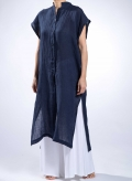 Dress Semizie Square Sleeveless 100% Linen