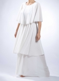 Φόρεμα 3 Level Maxi Plisse Thin