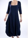 Φόρεμα Bottle 3/4 μανίκι ελαστικό
