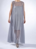 Dress River Sleeveless Maxi Tulle