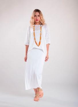 Φόρεμα Φανελάκι maxi ελαστικό