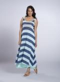 Φόρεμα Xenia Ριγέ Πλεχτό