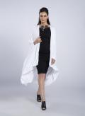 Φορεμα Boatneck midi 3/4Μανικια ελαστικό