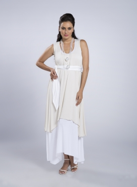 Dress Mytes Sleeveless Maxi elastic