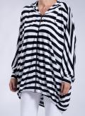 Jacket Ziphood Stripes