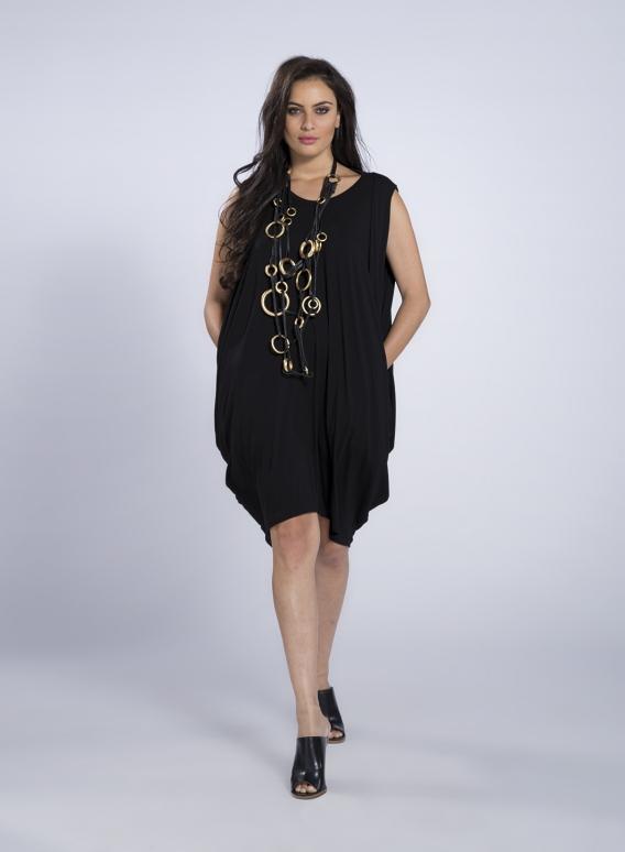 "Dress ""Pandora"" Midi sleeveless elastic"