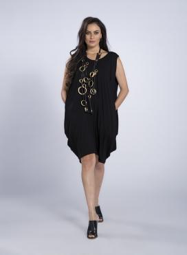 Φορεμα Pandora Midi Xωρίς Mανίκι ελαστικό