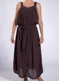"Dress ""PHOEBE"" Mouli 100% cotton"